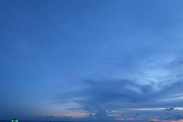Sunset at Rayong, Thailand