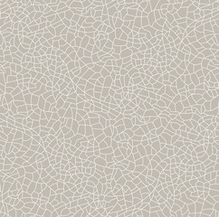 Seamless vector texture cracked. Vector pattern with cracks.