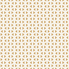Retro Golden Pattern. Vector seamless background