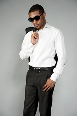 African American Male in A Suit