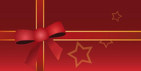 Weihnachtskarte / Gutschein Hintergrund