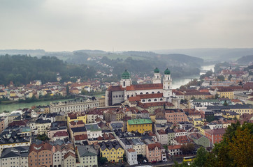 view of Passau, Germany