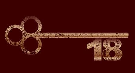 Dirty Copper 18 Key