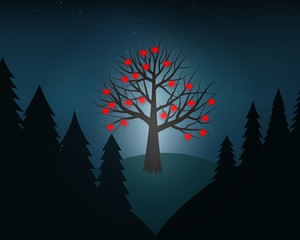 A tree of love