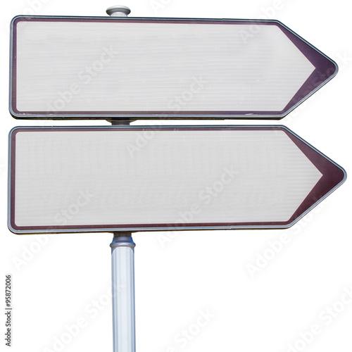 panneau de signalisation fond blanc photo libre de droits sur la banque d 39 images. Black Bedroom Furniture Sets. Home Design Ideas