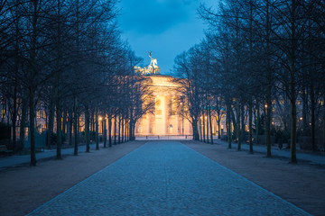 Brandenburger Tor at Twilight