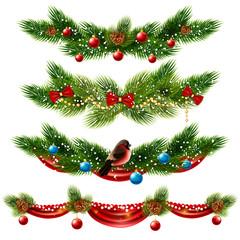 Christmas Borders Set
