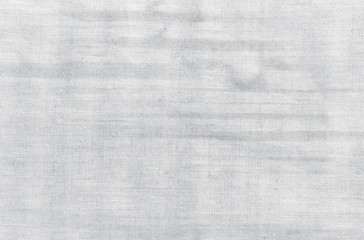 Stained black and white fabric, textured background