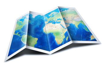 Obraz Map of the World  - fototapety do salonu