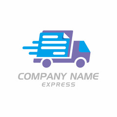 Delivery Express Logo icon