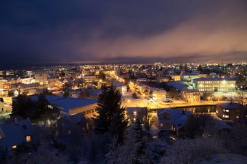 Reykjavik at christmas