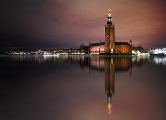 In de dag Stockholm Stockholm city hall
