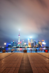 Wall Mural - Shanghai skyscrapers