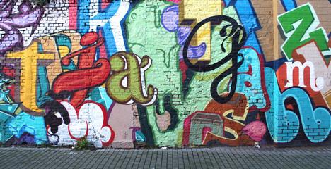 Estores personalizados con tu foto Street art / Alphabet