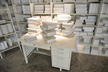 White book Corner