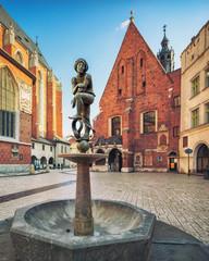 Krakow old town - fototapety na wymiar