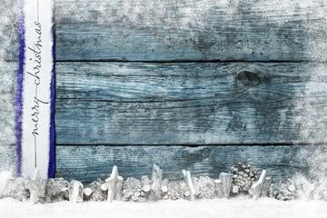 weihnachtlicher Hintergrund Holz Dekoration