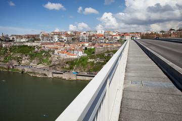 Porto Cityscape from Infante Bridge