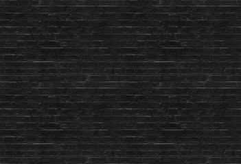 Seamless black brick wall