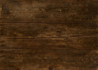 .Wooden background in retro style..Old grunge sepia textured.