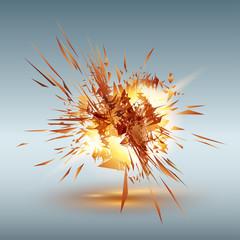 Grunge explosion