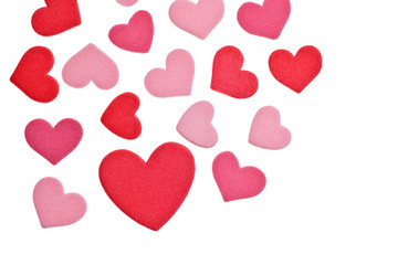 Valentine's Day Foam Hearts