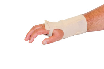 Verband für Hand