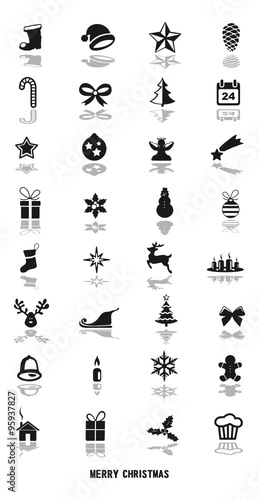 weihnachten symbole stock image and royalty free vector. Black Bedroom Furniture Sets. Home Design Ideas