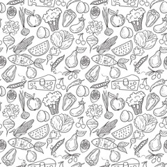 Eco food pattern