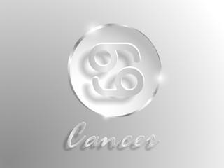 white paper zodiac sign