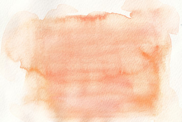 faded orange tones watercolor background