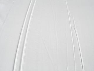 Ski tracks in snow, skiing trail winter sport background