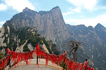 Photo sur Plexiglas Xian Huashan Mountain, Xian, China