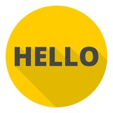 Image result for hello icon