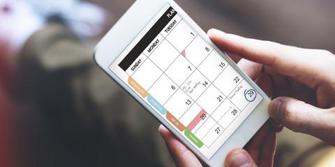 Calender Remind Communication Data Information Concept