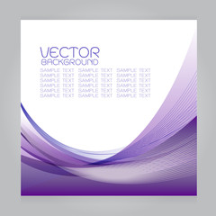 vector background purple curves line Gradation