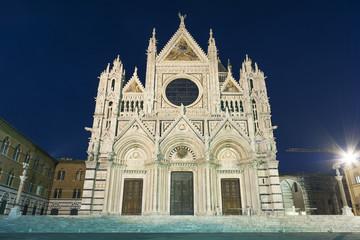 Fototapete - Cattedrale di Siena, Siena, Tuscany, Italy