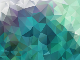 Vector abstract polygon background