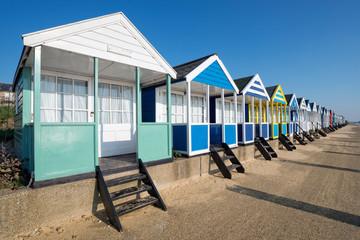 Beach Huts on the Suffolk Coast