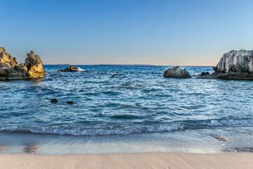 Beach at summer
