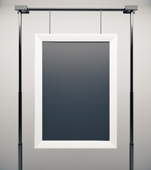 Blank picture frame, mock up