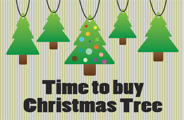 Time to buy christmas tree