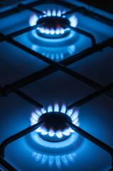 two gas burner