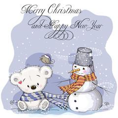 Bear and Snowman