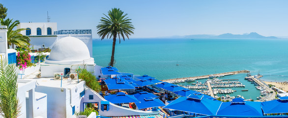 Papiers peints Tunisie The luxury view