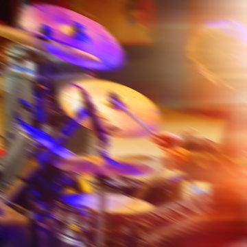 drummer plays