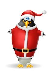 pinguino babbo natale