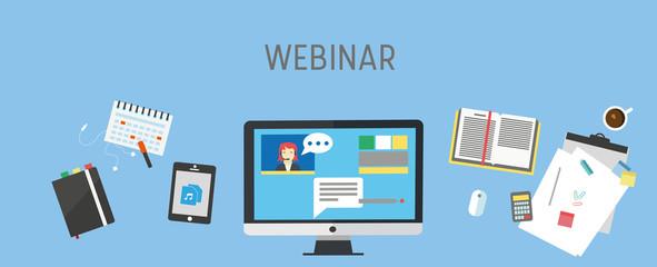 webinar / e-learning banner