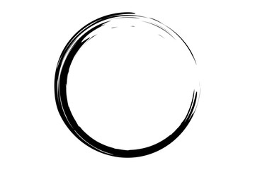 black circle illustration