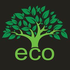 Eco tree logo 1